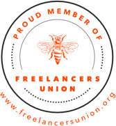 Proud member of Freelancers Union